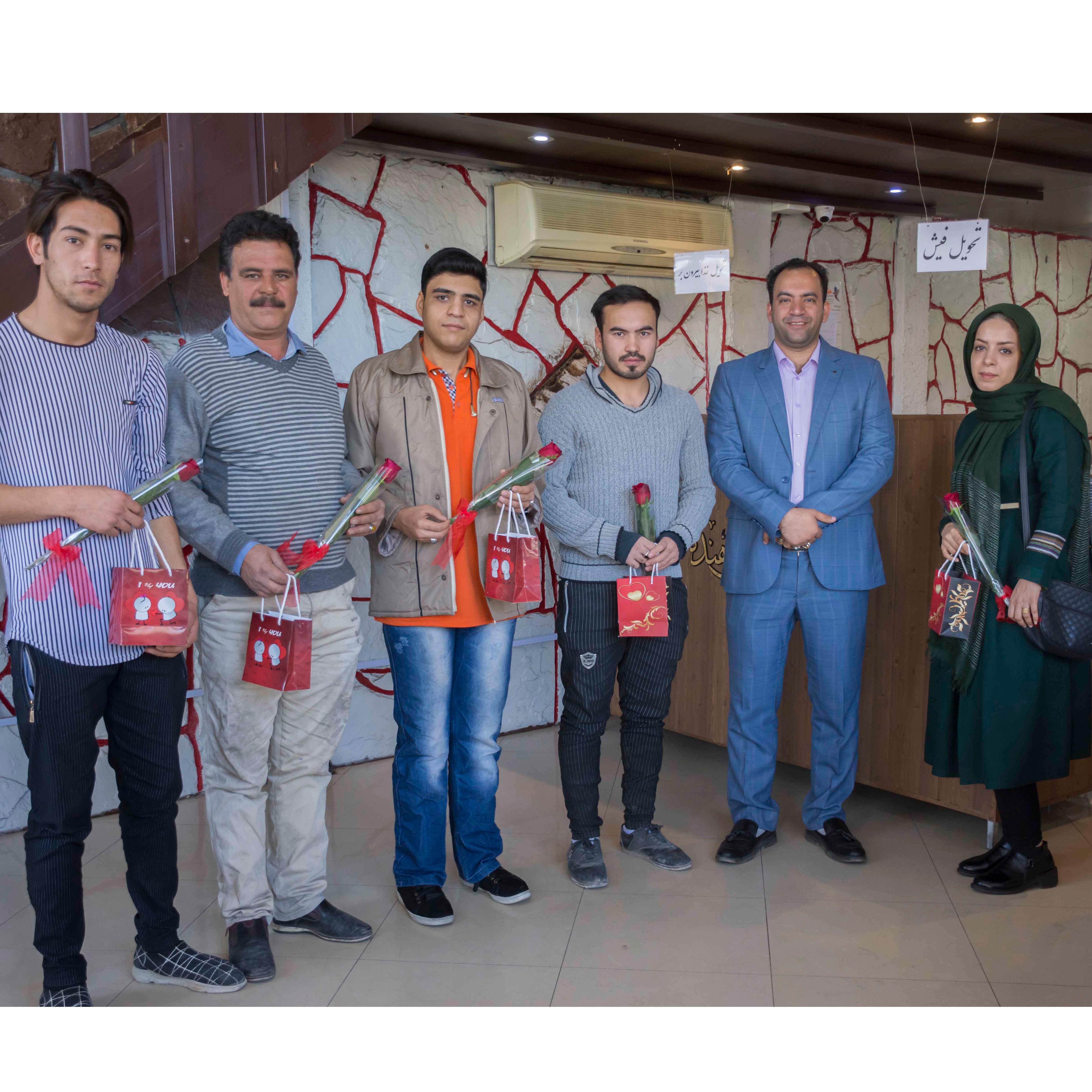 مراسم اهدای جوایز جشنواره سکه طلا باشگاه مشتریان پناهنده